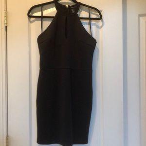Cute black sleeveless dress